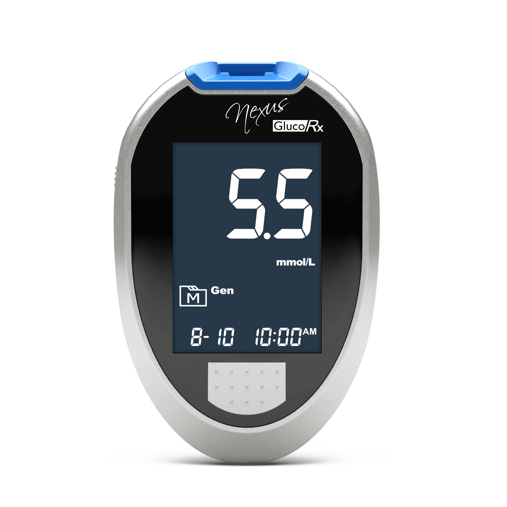 GlucoRx Nexus blood glucose meters