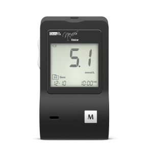 GlucoRx Voice blood glucose monitor