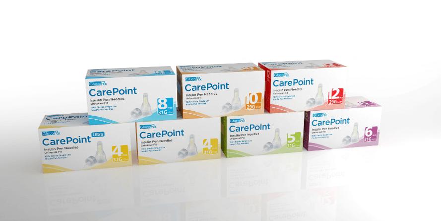 GlucoRx CarePoint needles