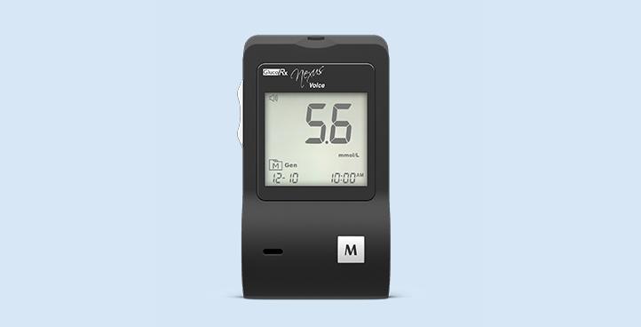 GlucoRx Nexus Voice Meter